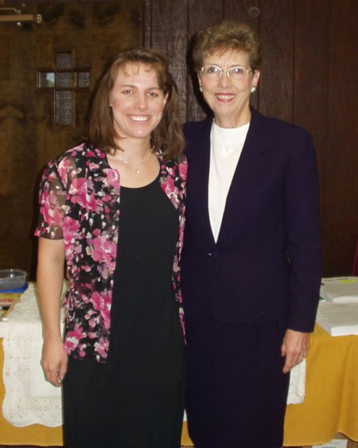 Joan Cetnar and Christy Darlington